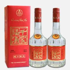 36º宜宾五粮液股份出品千家福酒 陈年老酒 500ml*2瓶 (2000年)