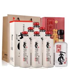 54°董酒何香750ml(6瓶装)+38°国密董酒500ml(2012年-2014年)