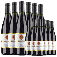 法国原酒进口红酒 杜赛托珍藏金标干红葡萄酒750ml*6(买1箱得2箱)
