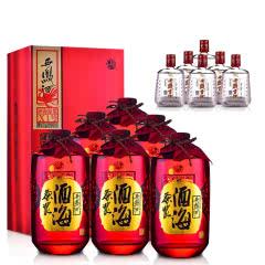 【先领津贴再下单】45°西凤酒-酒海原浆X1 500ml(2014年)*6+50°西凤贡酒 125ml(2012年-2013年)*6