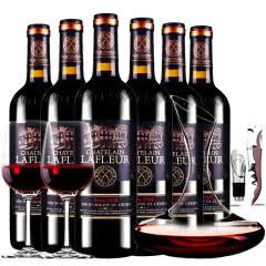 拉斐庄园2008珍酿特选干红葡萄酒红酒整箱醒酒器装750ml*6