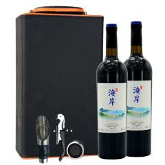 中粮长城干红葡萄酒海岸马瑟兰赤霞珠 双支带礼盒 750ml