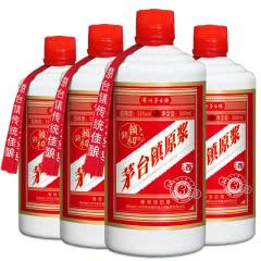 53°赖锦初茅台镇原浆 酱香型白酒 贵州纯粮食高粱酒 白酒整箱四瓶装500ml*4