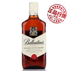 百龄坛特醇苏格兰威士忌(Ballantine's)进口洋酒烈酒700ml