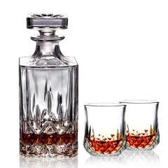 [赠品]威士忌酒瓶玻璃家用酒壶洋酒红酒酒瓶醒酒器
