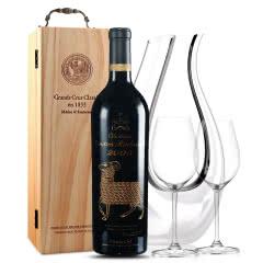 法国原瓶进口红酒 木桐古堡红葡萄酒 2000年 木桐正牌 单支 750ml