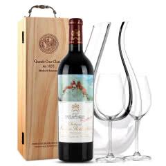 法国原瓶进口红酒 木桐古堡红葡萄酒 2012年 木桐正牌 单支 750ml