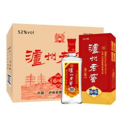 52°泸州老窖 喜二曲6喜6白酒 500ml(6瓶装)