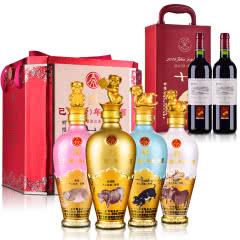 【礼盒】52°五粮液股份公司己亥(猪)年纪念酒(礼盒套装)500ml*4