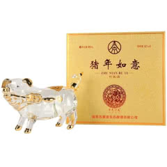 五粮液生态酿酒公司52度猪年如意十二生肖猪收藏纪念酒880ml