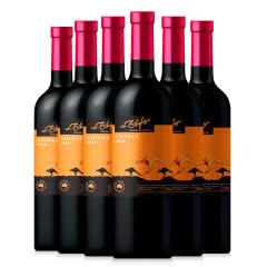 澳洲进口澳菲亚袋鼠干红葡萄酒750ml