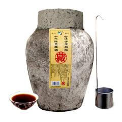 绍兴黄酒十年陈花雕酒20斤装越龙潭坛装酒10KG