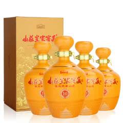 【酒厂直营】38°山庄皇家窖藏10年 450ml(4瓶装)
