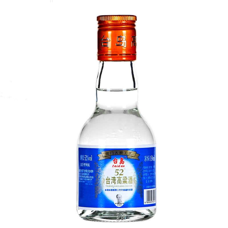 台湾高粱酒52度 金门浓香型 150ml 高度白酒图片
