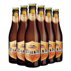 进口啤酒 比利时布什啤酒 Bush 12度烈性高度啤酒 330ml*6瓶