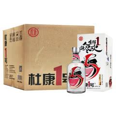52°杜康一号浓香型白酒500ml*4瓶    整箱装