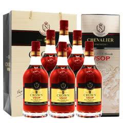 40°法国洋酒(原瓶进口)拿破仑皇冠VSOP白兰地700ml*6瓶 整箱装