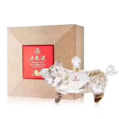 52度五粮液祝君猪年吉祥500ml十二生肖之生肖猪浓香型礼盒收藏纪念白酒