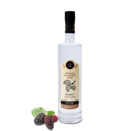 桑葚果汁发酵伏特加亚美尼亚原瓶进口40度500ml水果酒