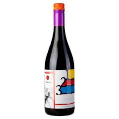 天鹅湖(kazayak)摩尔多瓦原瓶进口红酒梅洛微甜半干红葡萄酒750ml单支