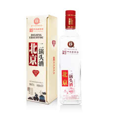 42度永丰牌北京二锅头红钻清香型500ml*1瓶