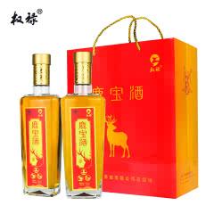 36%vol权禄鹿宝酒鹿骨鹿筋鹿茸保健酒450ml(2瓶装)