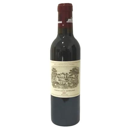 (列级庄·名庄·正牌)法国拉菲酒庄2007干红葡萄酒375ml(又译大拉菲、拉菲城堡)