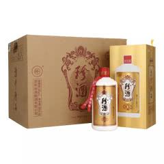 【珍酒厂家授权】贵州珍酒 珍五 53度酱香型白酒 500ml(6瓶装)