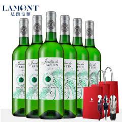 拉蒙 芳汀园 波尔多AOC级 法国原瓶进 干白葡萄酒750ml*6整箱装