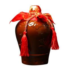 【买二赠礼袋】3斤坛装 绍兴黄酒半甜型九年手工糯米精酿花雕酒加饭酒 1.5L陶坛装老酒包邮
