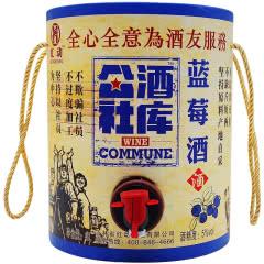 红动Odenir 果酒系列(公社酒库) 大桶3000ML装 蓝莓味