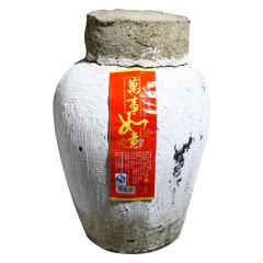 绍兴黄酒 糯米花雕老酒半甜型10KG20斤大坛装手工冬釀加饭米酒月子酒 做药引泡阿胶包邮