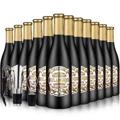 法国原酒进口红酒甜型葡萄酒爱琴海精选低度甜红葡萄酒750ml*12