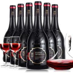 法国(原瓶原装)进口红酒波尔多AOC法定产区欧诺蒂酒庄干红葡萄酒750ml*6