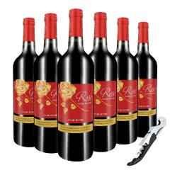 法国原瓶进口红酒简爱赤霞珠干红葡萄酒整箱6支装