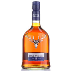 43°达尔摩帝摩18年苏格兰单一麦芽威士忌700ml