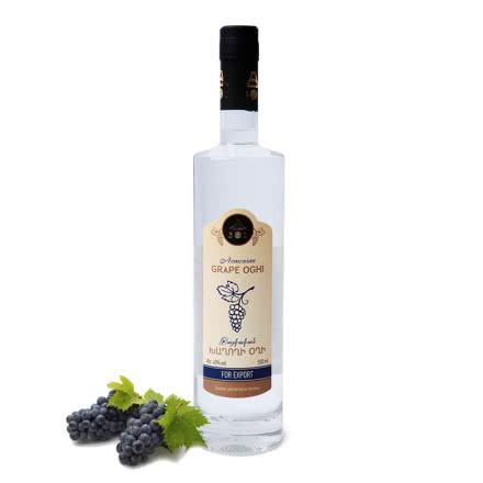 葡萄果汁发酵伏特加亚美尼亚原瓶进口40度500ml水果酒