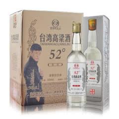 52°台湾高粱酒 清香型白酒 台湾风味450ml*6瓶 整箱
