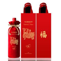 澳洲原装进口天鹅庄大金福美乐干红葡萄酒1.5L/1500ml