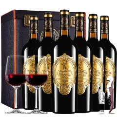 法国进口红酒拉斐天使庄园干红葡萄酒红酒整箱红酒礼盒装750ml*6
