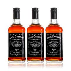 【洋酒爆款】正品酒吧专用酒水xo烈酒杰克威士忌700ml*3瓶