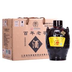 汤沟百年老窖坛装高度浓香型白酒1500ml(2坛装)