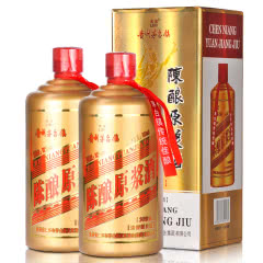 52° 茅台镇 陈酿原浆酒 30珍藏(金瓶) 500ml*2瓶装