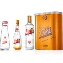38°五粮液股份自由度白酒浓香型礼盒装(620ml*瓶1+280ml*1瓶+调酒分酒器)