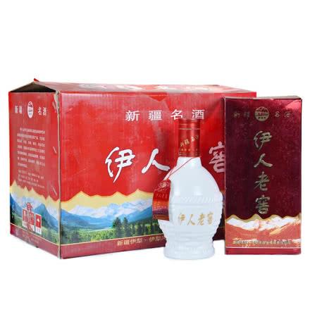 【老酒特卖】2003年52°伊人老窖老酒浓香型白酒500ml*6瓶
