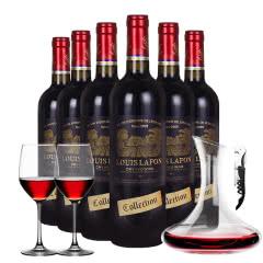 路易拉菲(LOUIS LAFON) 原酒进口12%vol特选干红葡萄酒 整箱750ml*6
