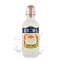 43°北京京宫龙凤白酒 京宫二锅头浓香型白酒 500ml*6