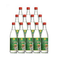 牛栏山白牛二 42°牛栏山二锅头陈酿白瓶500ml(12瓶装)整箱