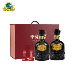 【酒厂直营】古井贡酒 年份原浆古8礼盒 50度500ml*2瓶
