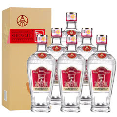 52°五粮液股份公司聖酒柔和白酒整箱500ml(6瓶装)